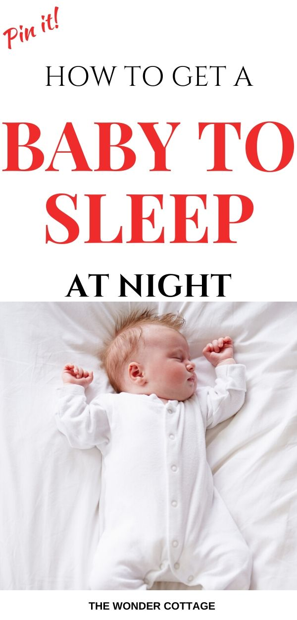 get baby to fall asleep