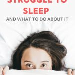 why you cant sleep at night