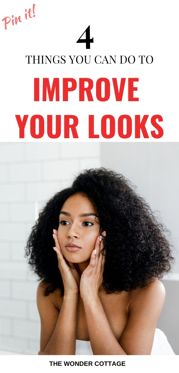 how to be happy with your looks