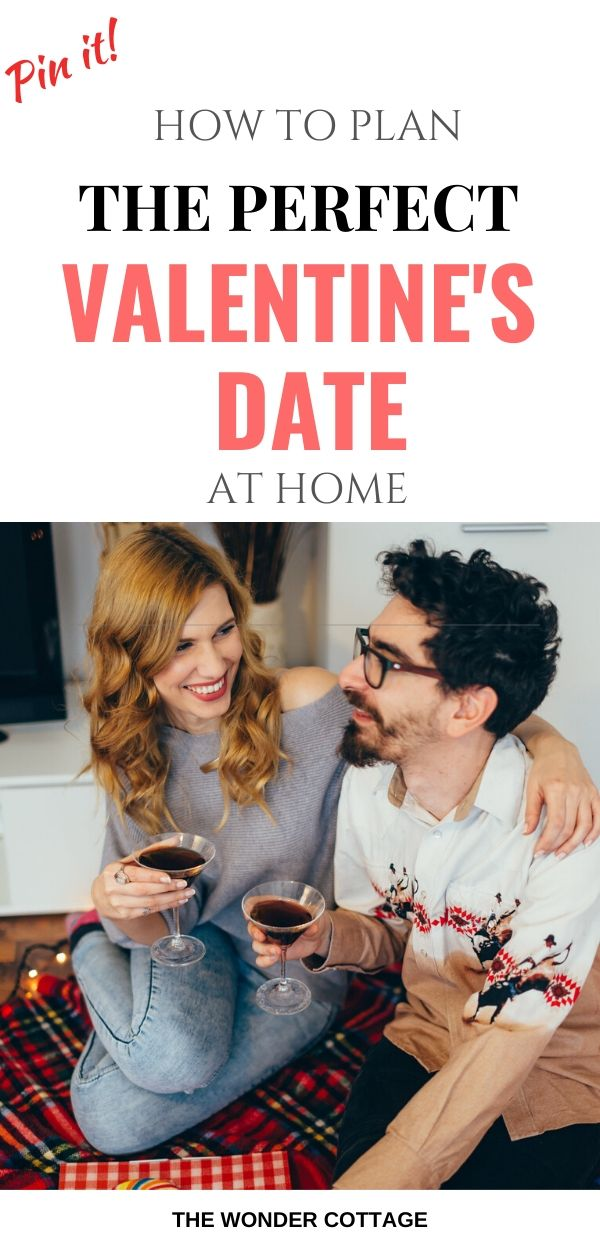 how to plan the perfect valentine's date at home