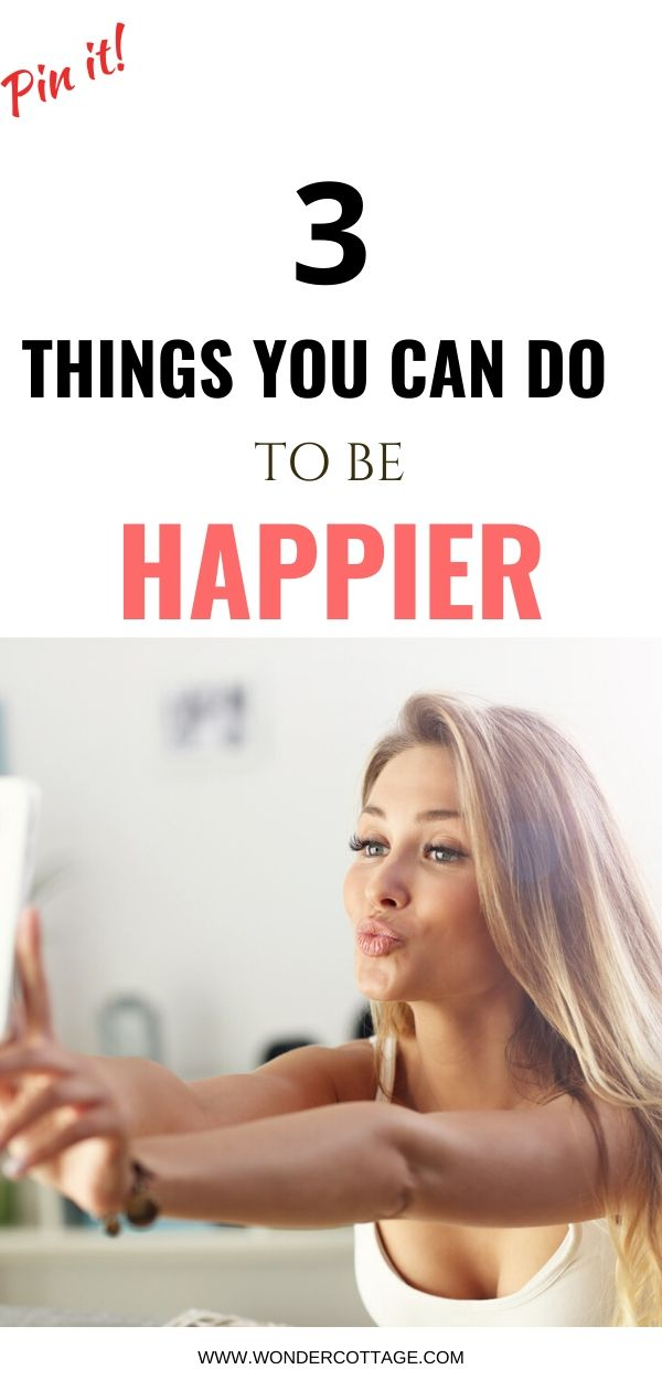 ways to be happier