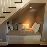 understairs nook area