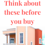 before you purchase a property