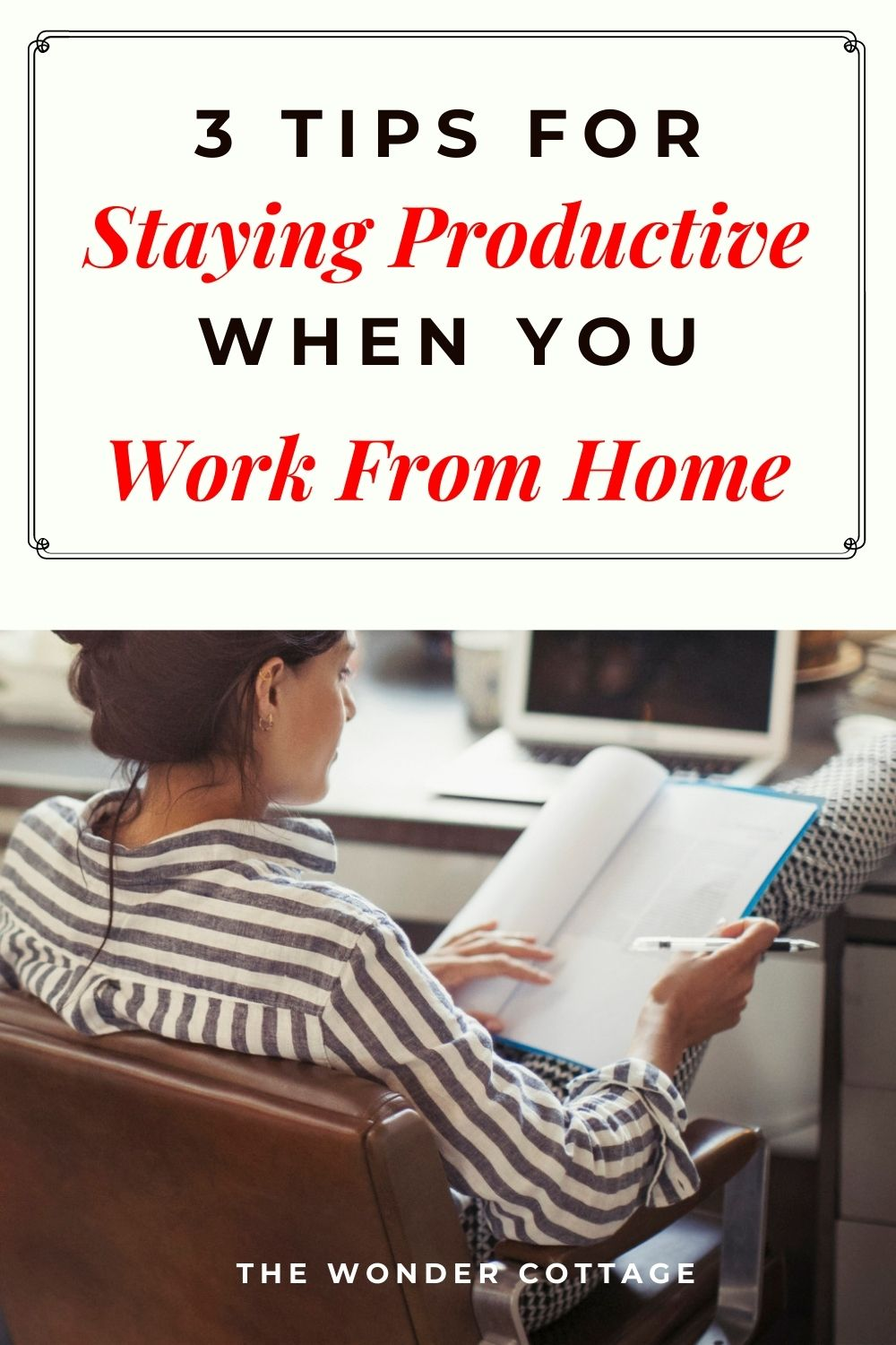 3 tips for staying productive when you work from home
