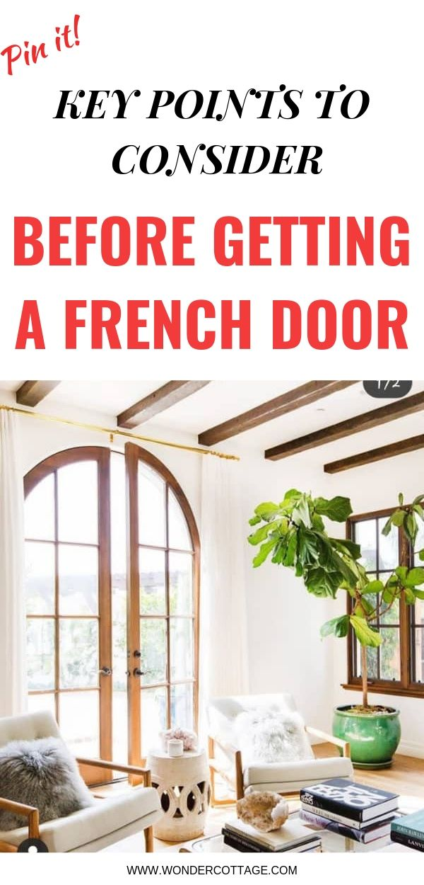 points to consider before buying french doors