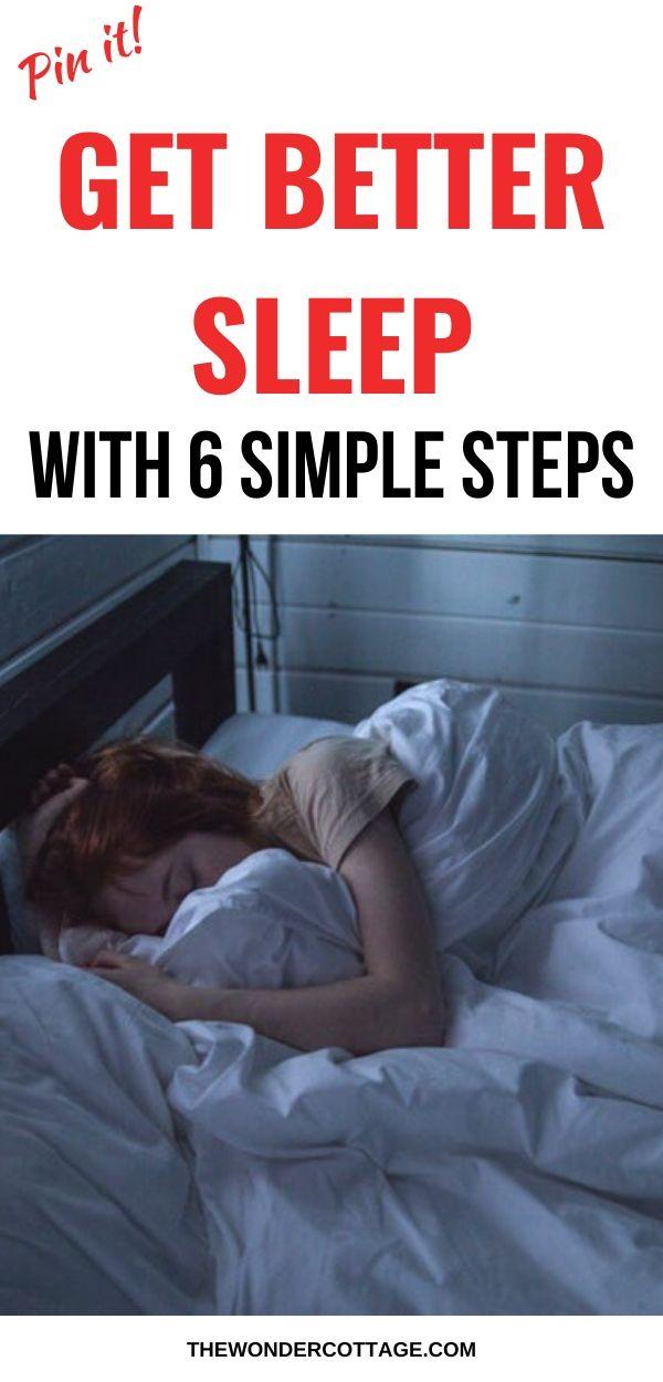 how to get better sleep