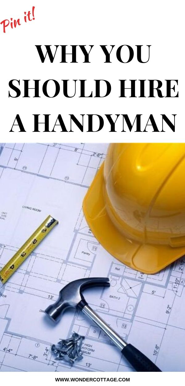 why you should hire a handyman service