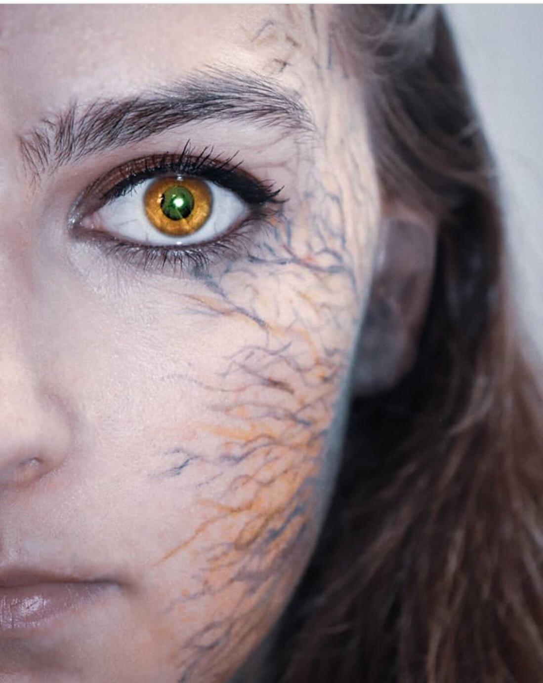 zombie infection halloween makeup tips
