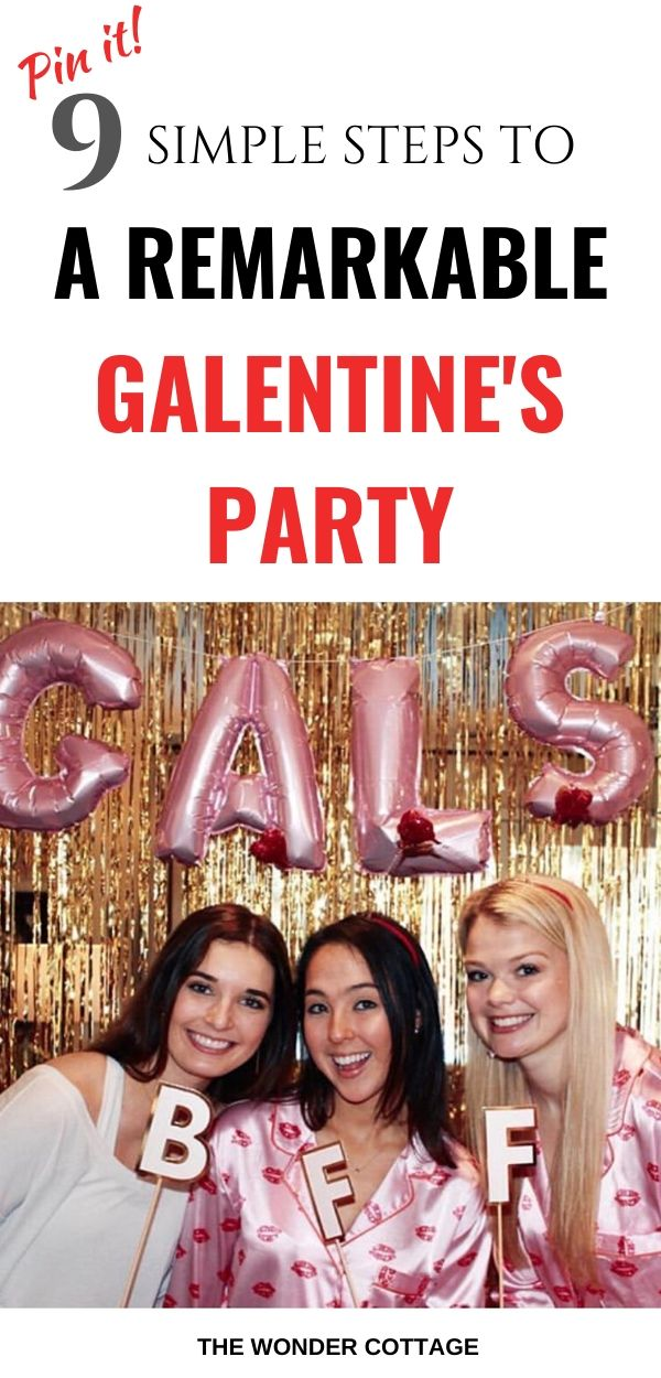 galentine's party ideas