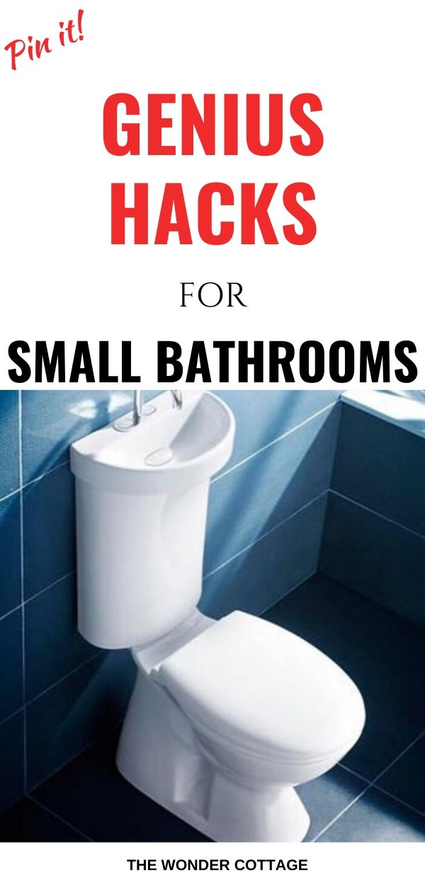 space saving ideas for small bathrooms