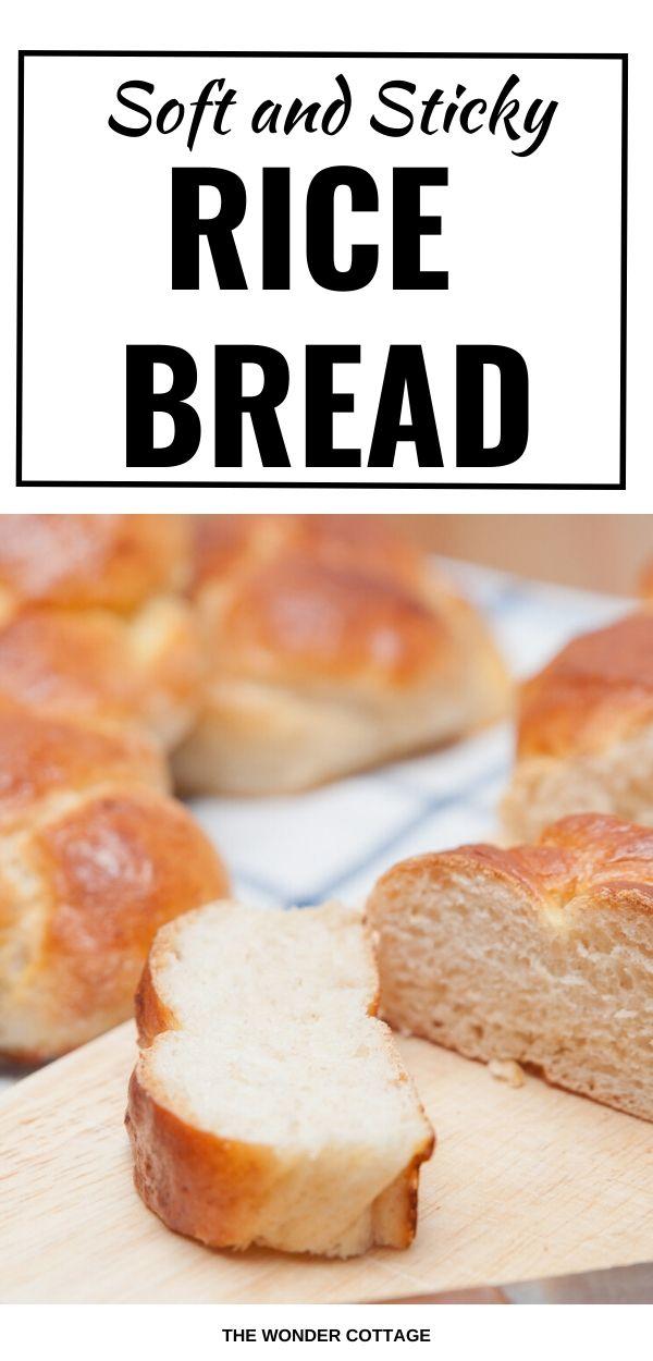 soft and sticky rice bread recipe