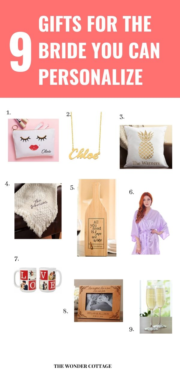 what to get the bride