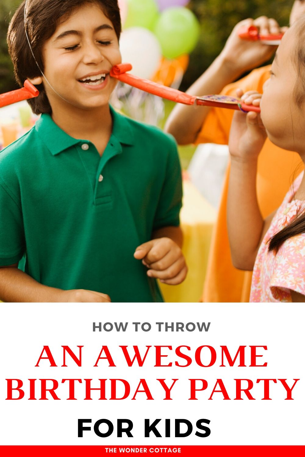 how to throw a birthday party for kids
