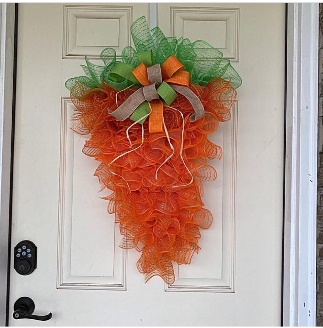 carrot wreath
