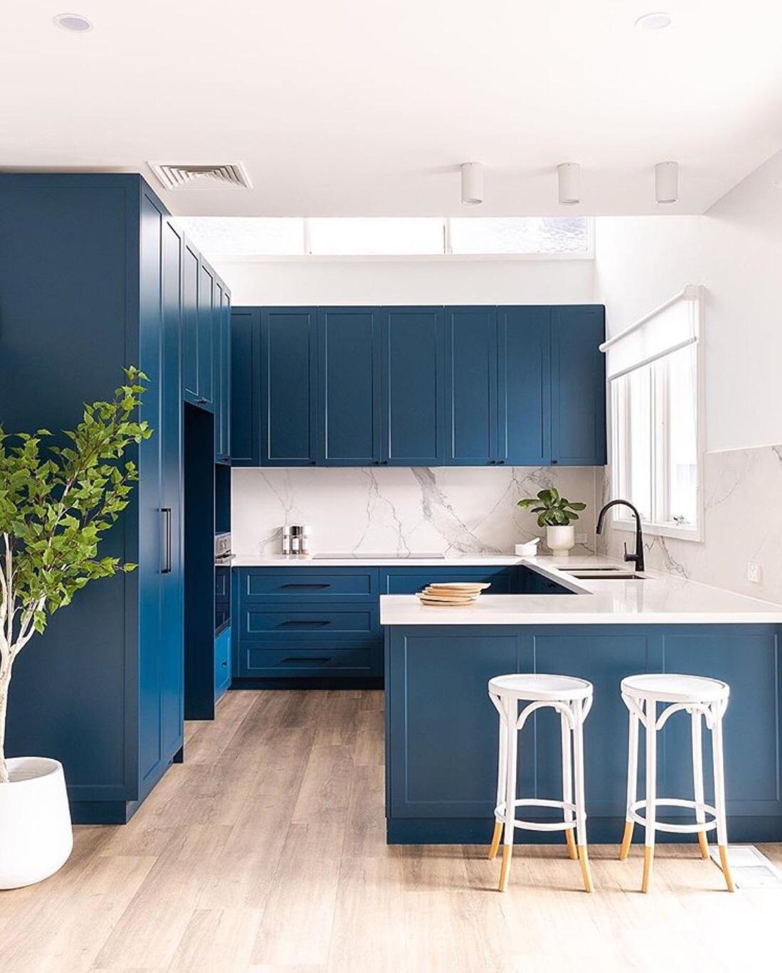 colourful kitchen design