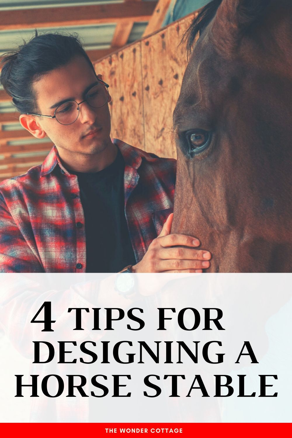 4 tips for designing a horse stable