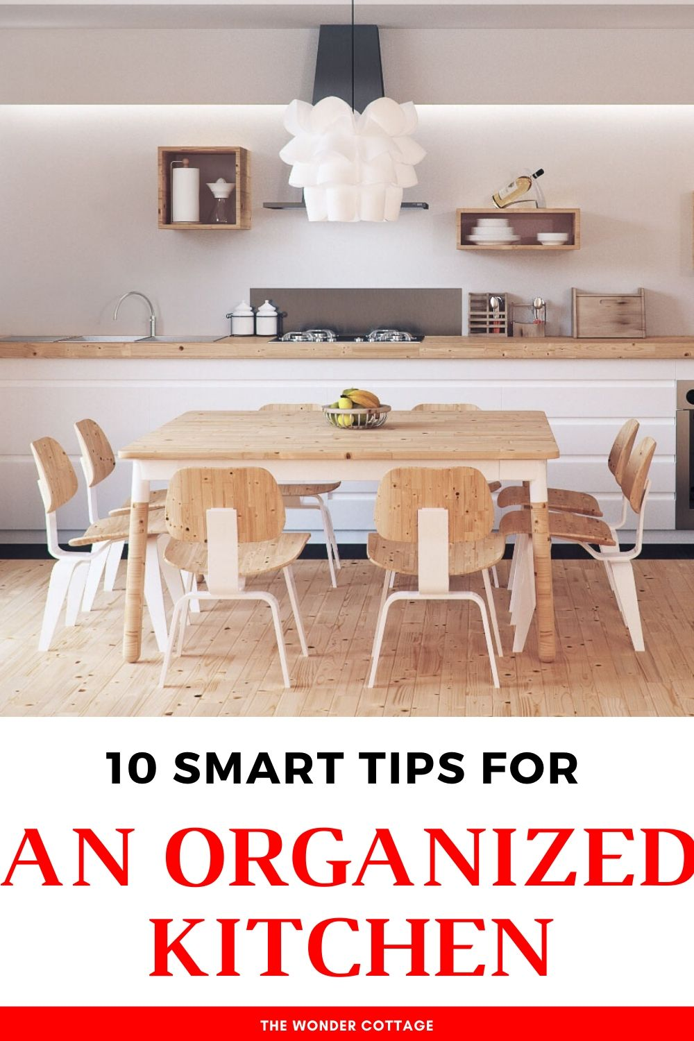 10 smart tips for an organized kitchen
