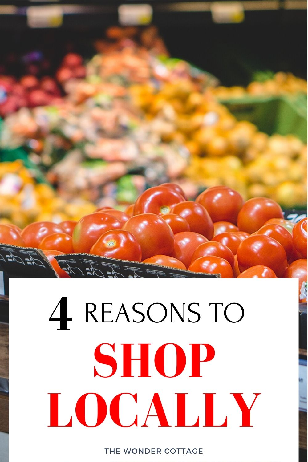 4 reasons to shop locally