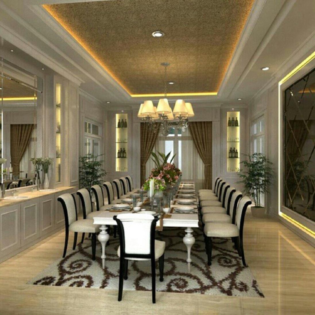 luxury dining room ideas