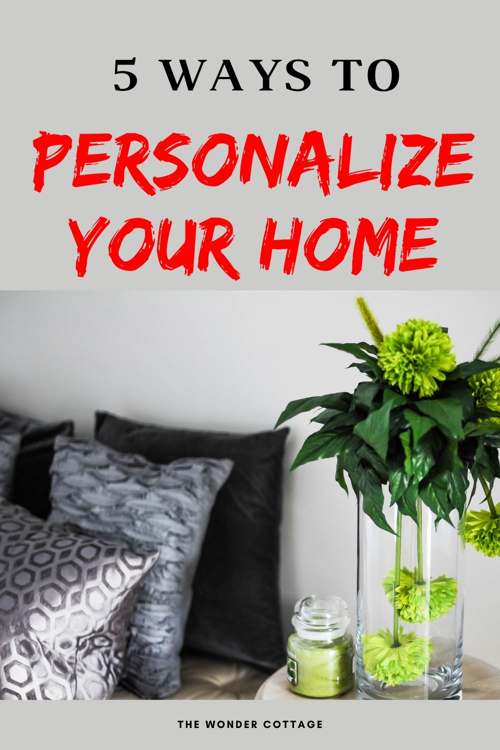 how to personalize your home