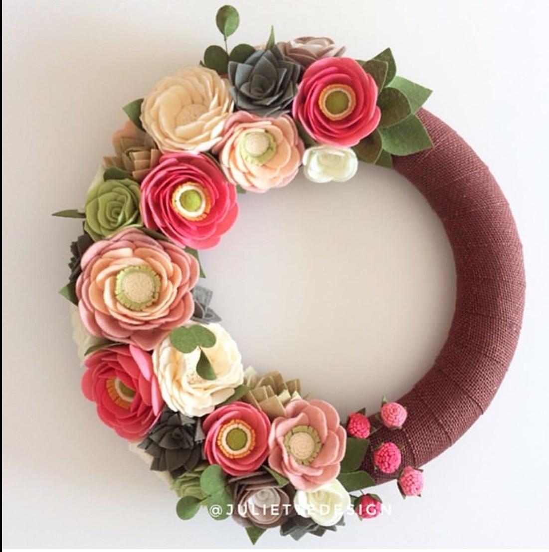 summer wreaths