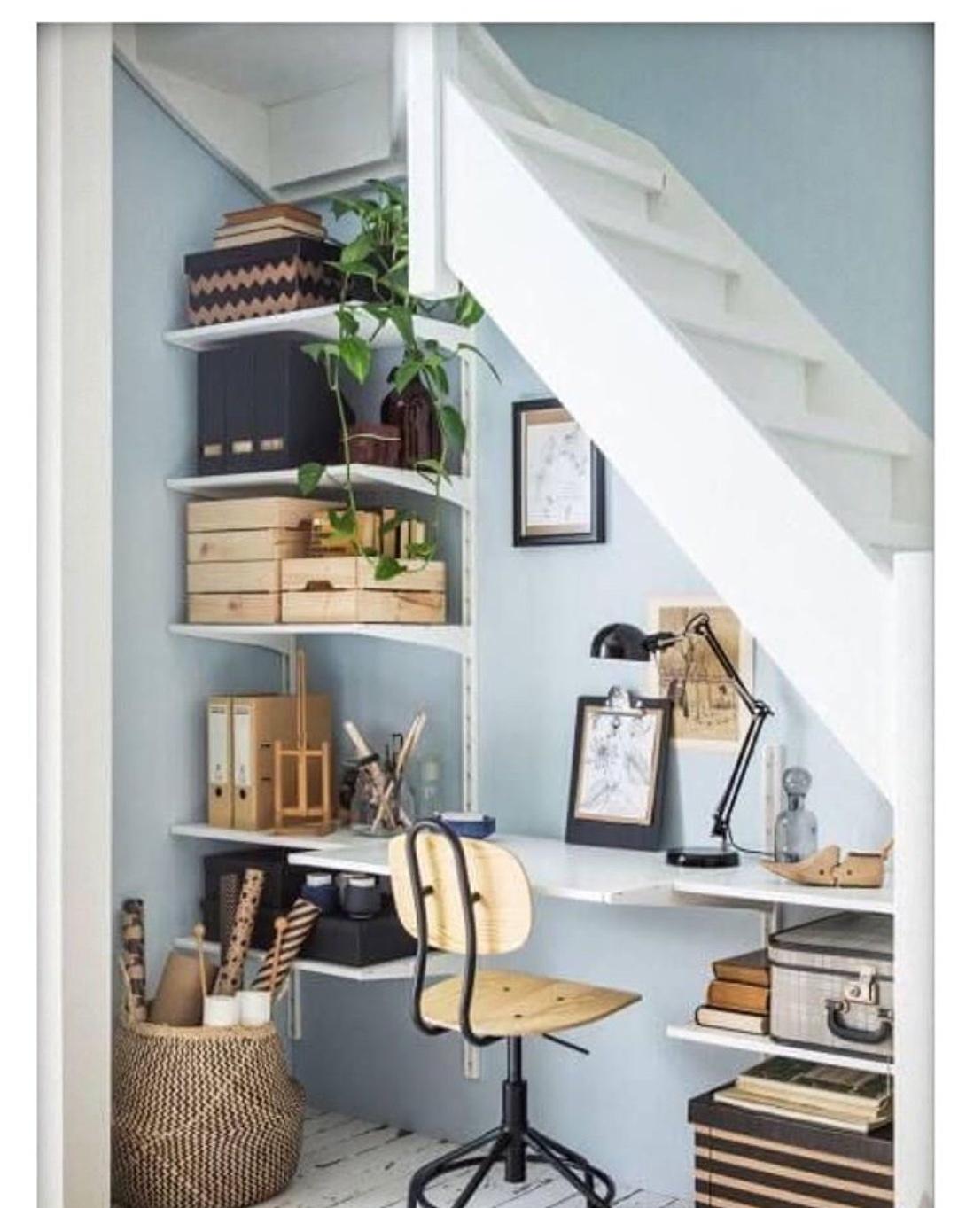 understairs office