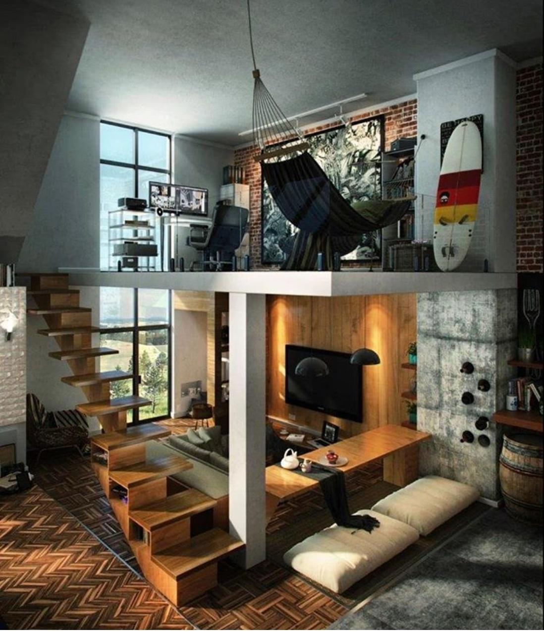 loft apartment decor