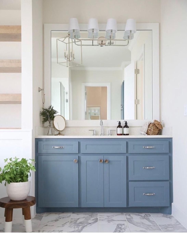 blue bathroom decor ideas