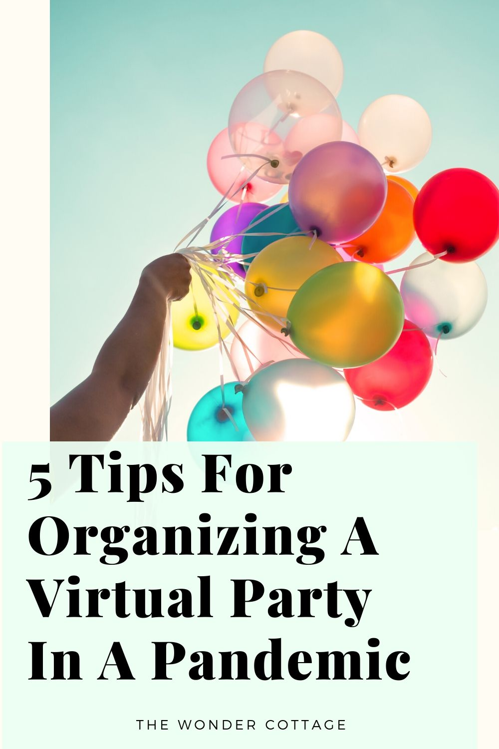 5 tips for organizing a virtual party in a pandemic