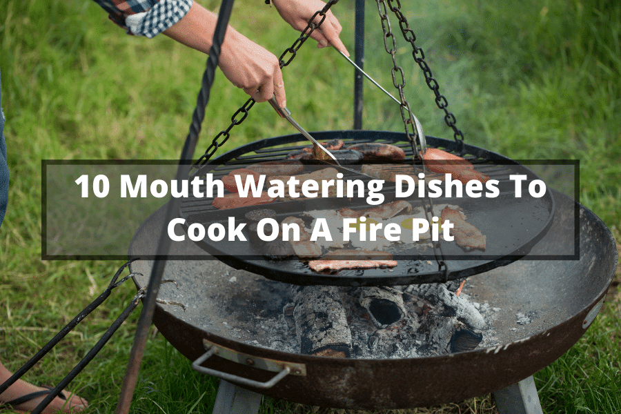 what to cook on a fire pit