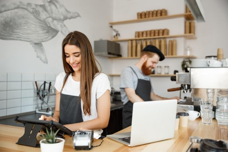 coffee business concept