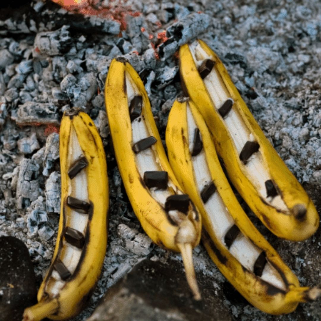 Hot Quick Banana Boats