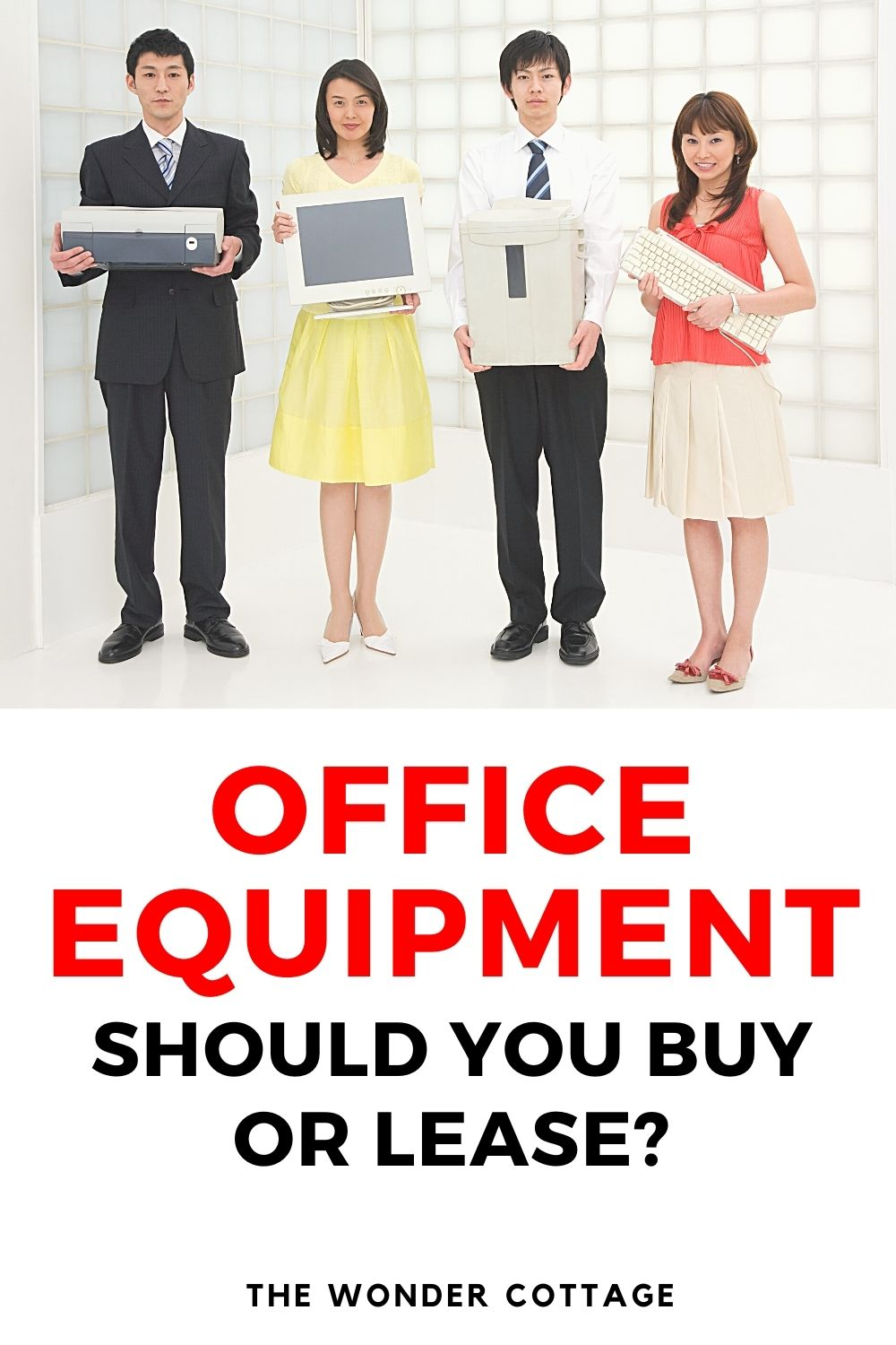 Office equipment? should you buy or lease