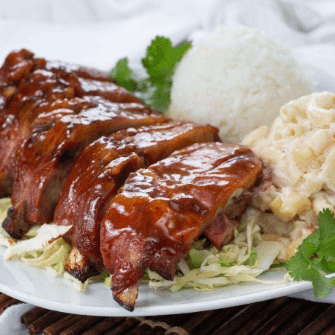 Hawaiian BBQ Pork Walking Taco