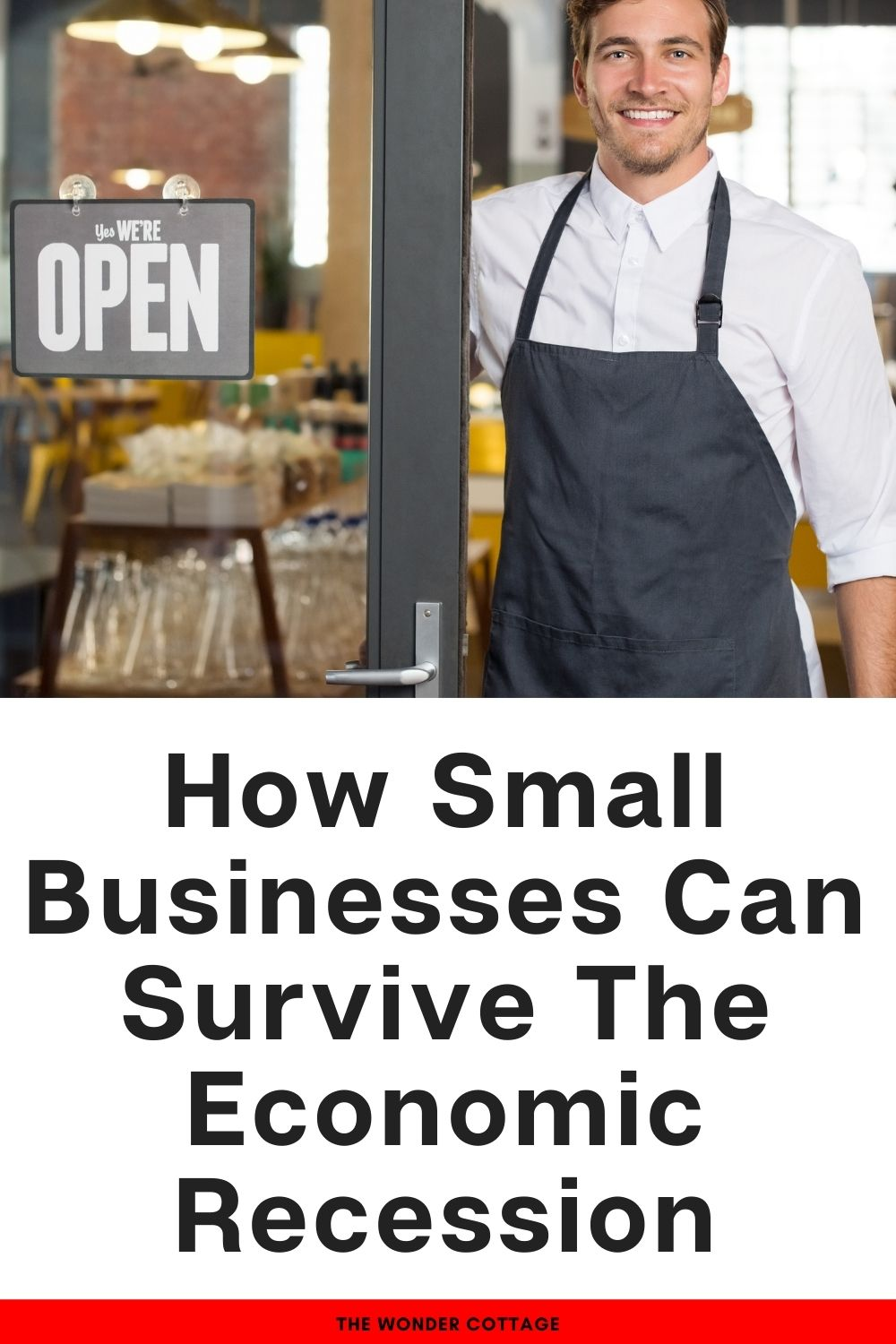 how small businesses can survive the economic recession