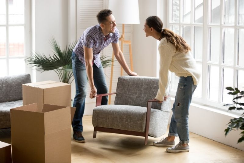 rearrange the furniture in your home