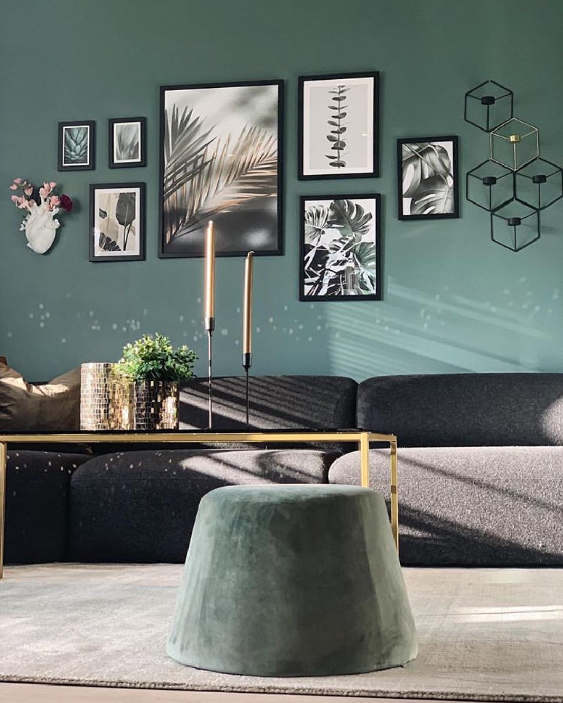 green living room decor ideas