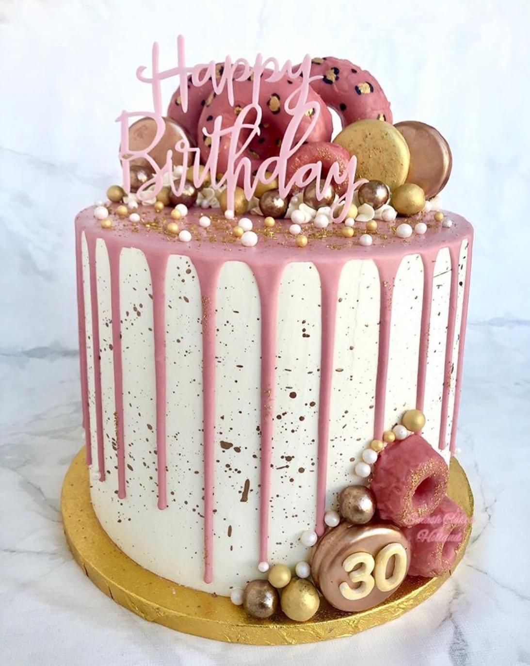 donut cake design