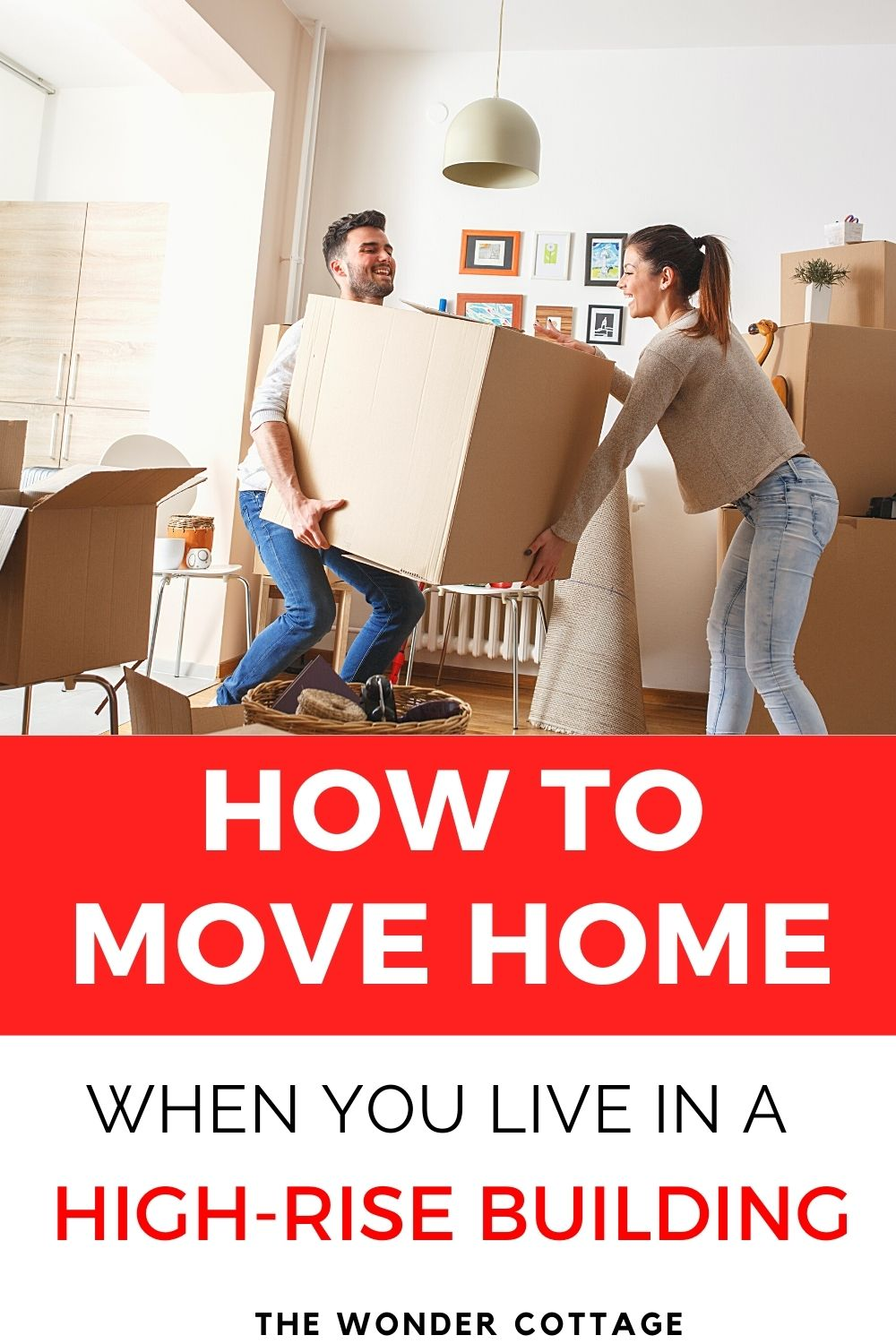 How to move home when you live in a high-rise building