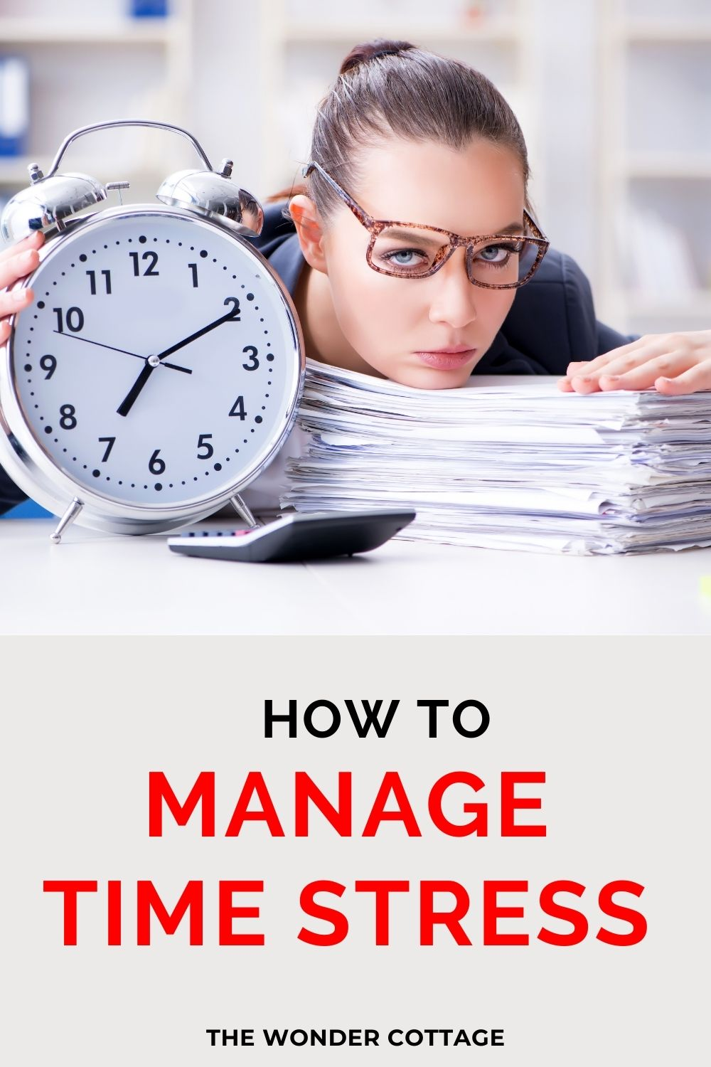 how to manage time stress