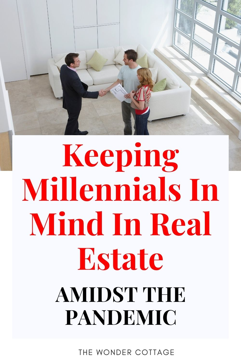Keeping millennials in mind in real estate amidst the pandemic