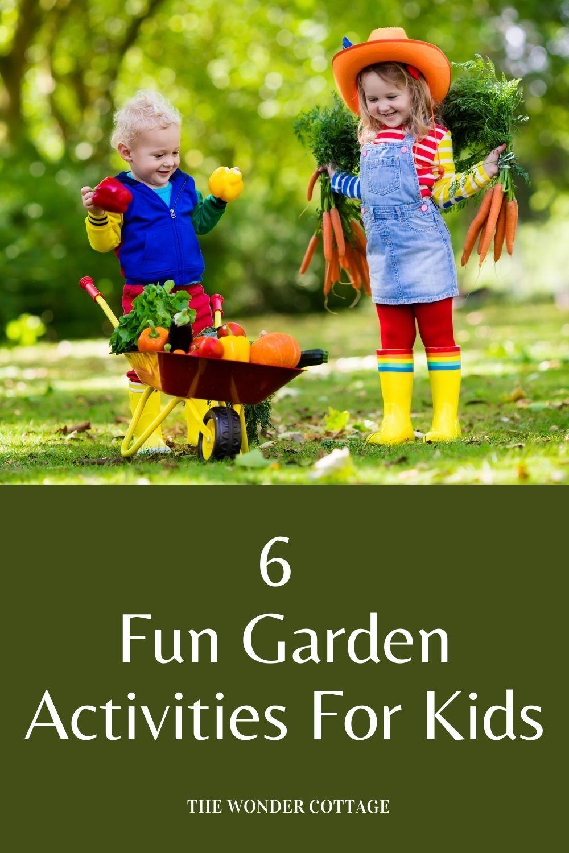 6 Fun garden activities for kids