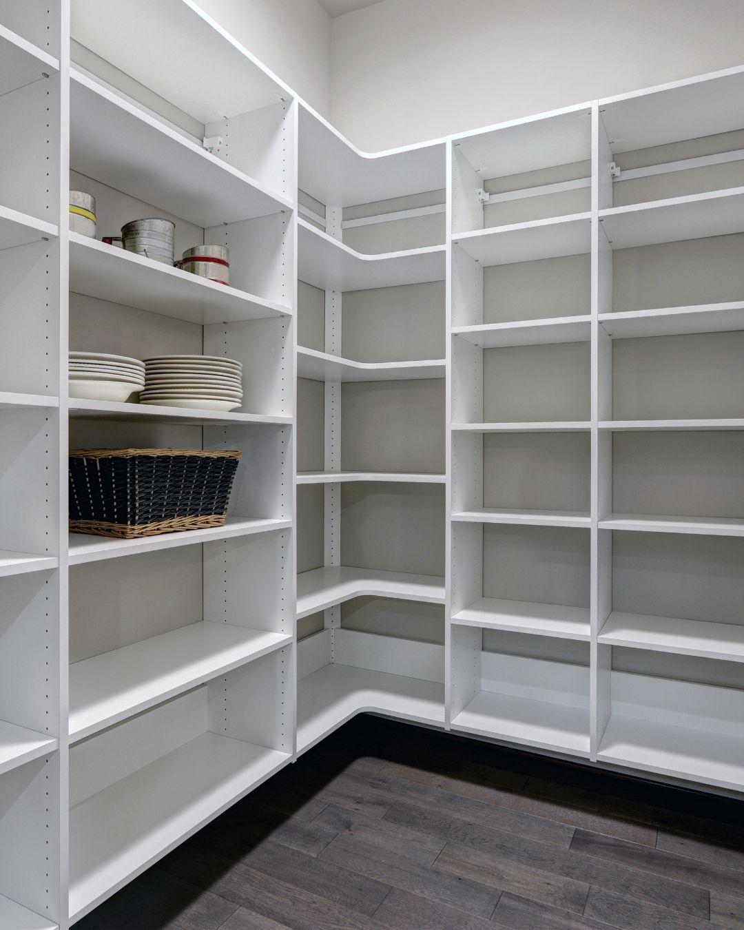 empty pantry interior