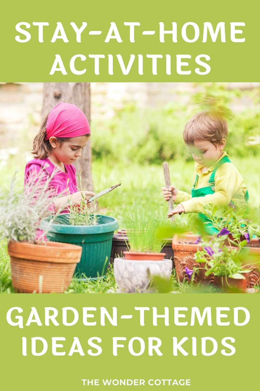 Stay-at-Home Activities: Garden-themed Ideas for Kids