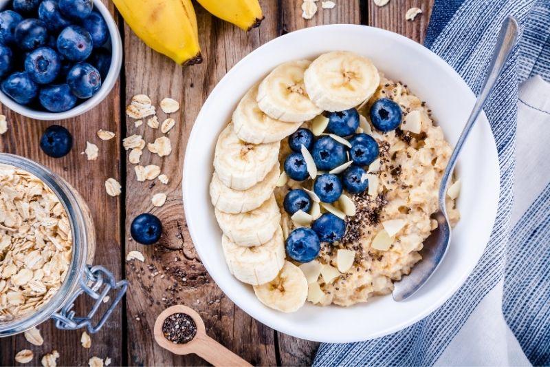 almond banana oatmeal