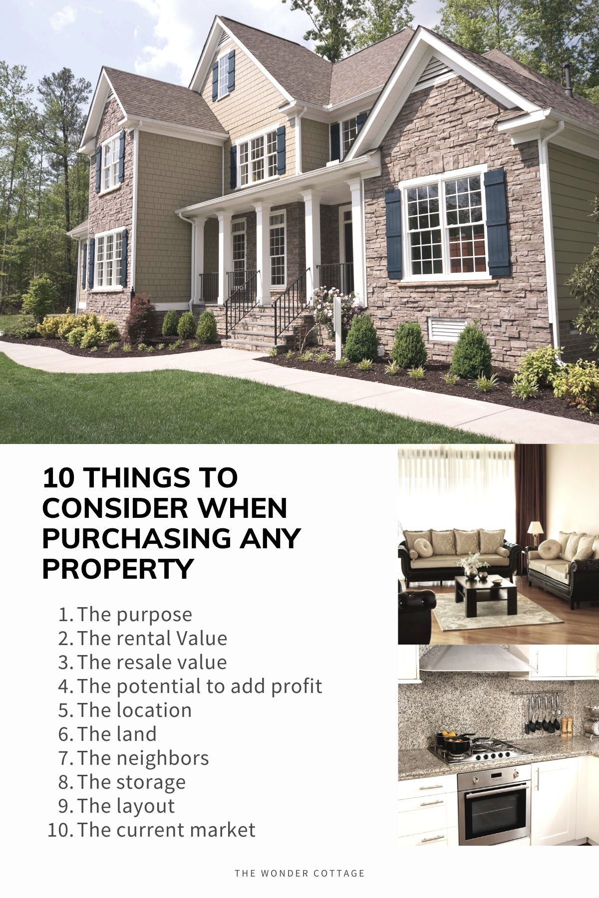 10 things to consider when purchasing property