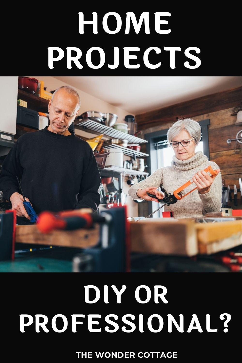home projects - diy or professional?