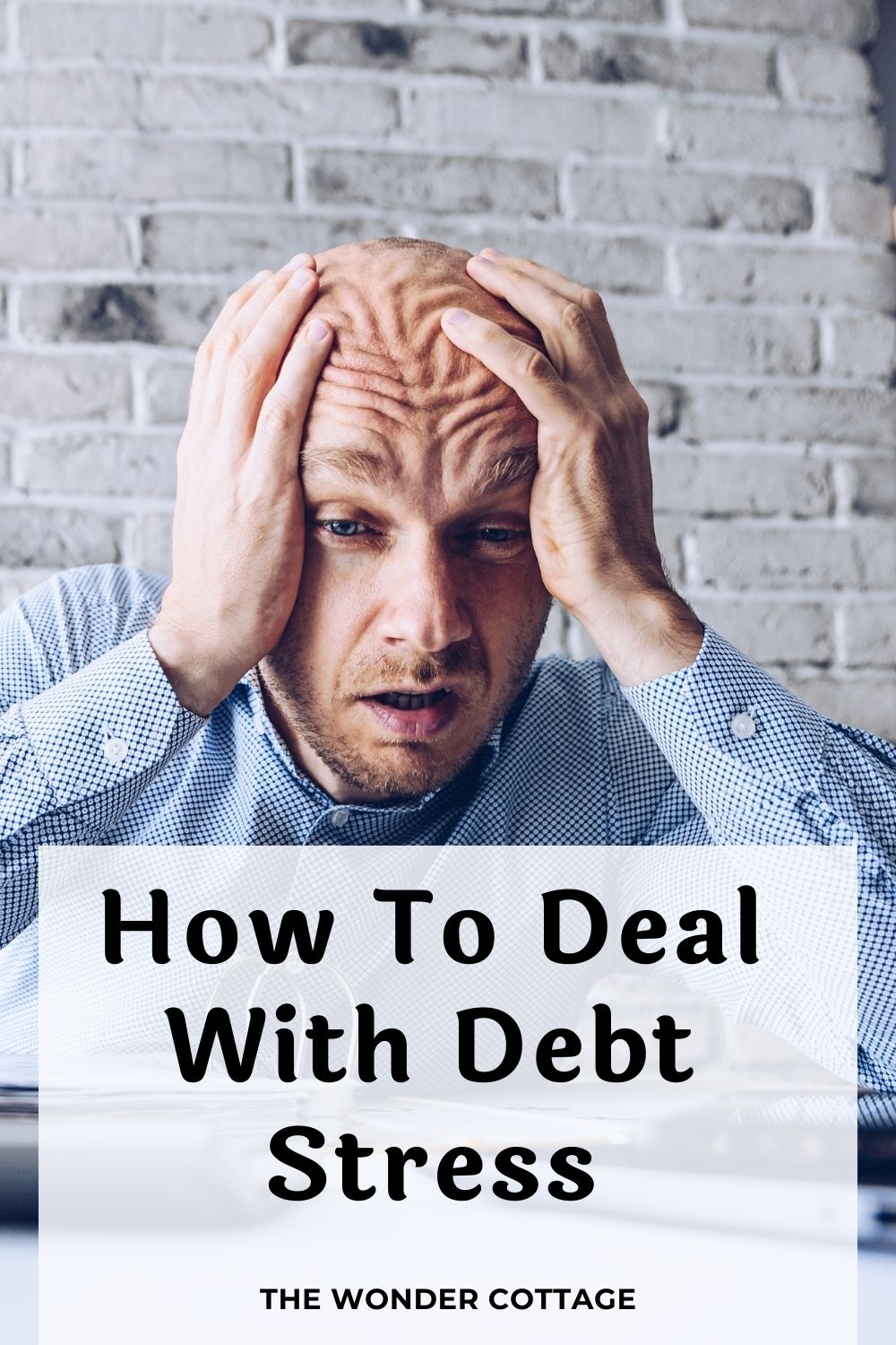 how to deal with debt stress