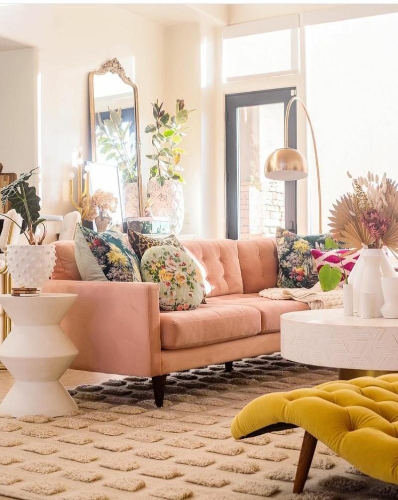 living room decor ideas for spring