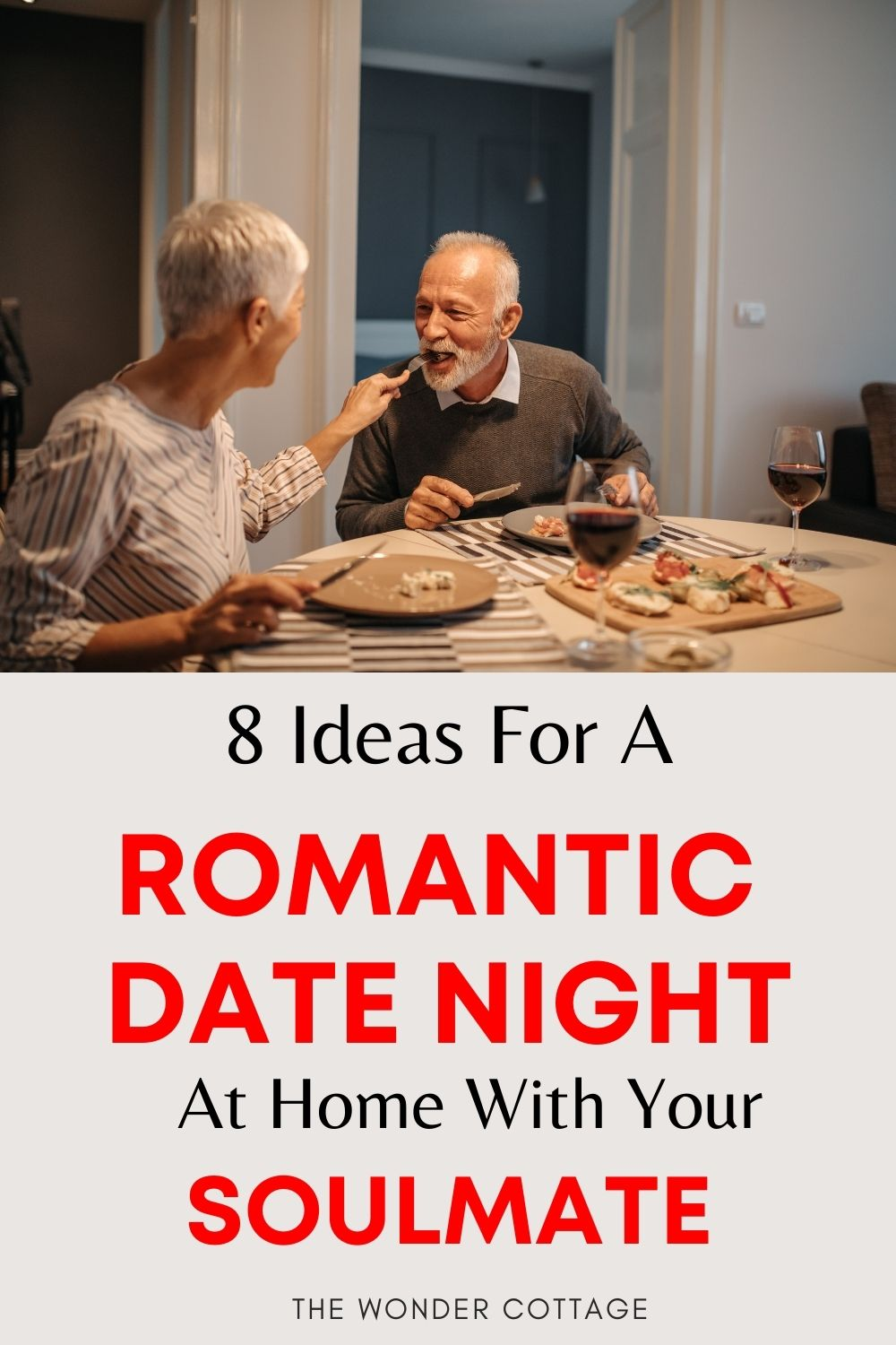 8 ideas for a romantic date night at home